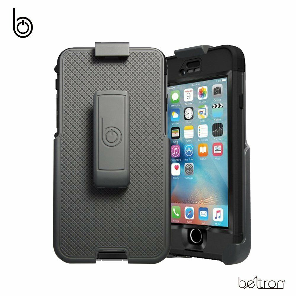 online retailer 2cbdd 6a9c5 Details about Belt Clip Holster Fits iPhone 6 6S LifeProof NUUD Case w/  Built-In Kickstand