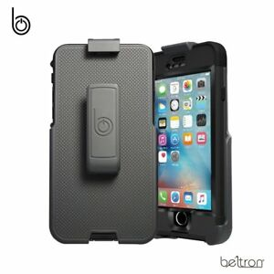 Belt-Clip-Holster-For-iPhone-6-6S-LifeProof-NUUD-Case-w-Built-In-Kickstand