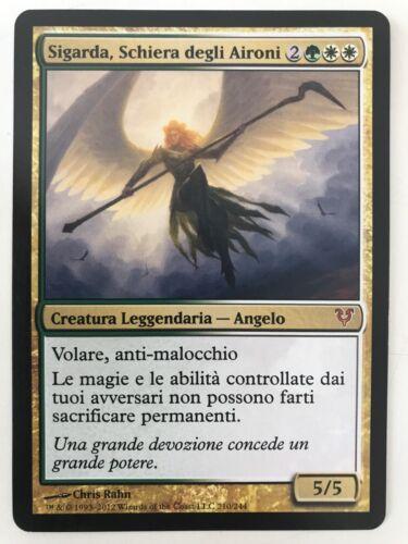 SIGARDA HOST OF HERONS MAGIC MtG SIGARDA SCHIERA DEGLI AIRONI NM  ITA
