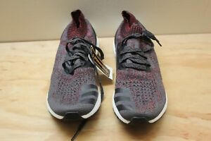 40f015df3 Image is loading ADIDAS-ULTRA-BOOST-UNCAGED-CARBON-BLACK-FOOTWEAR-WHITE-