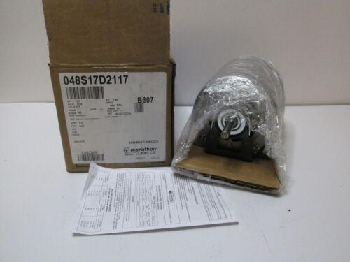 Marathon Motor 1//3 HP 1725 RPM 48Z Frame 277V 60Hz 1 Phase B607 048S17D2117