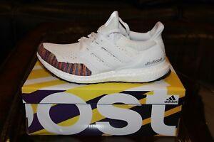 best website 76341 474f3 Image is loading adidas-UltraBOOST-1-0-LTD-White-Multicolor-Toe-