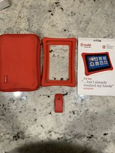 Nabi Tablet Carry HARDCASE-03-FA12 + Protective Film Care Kit + Bumper + Clip