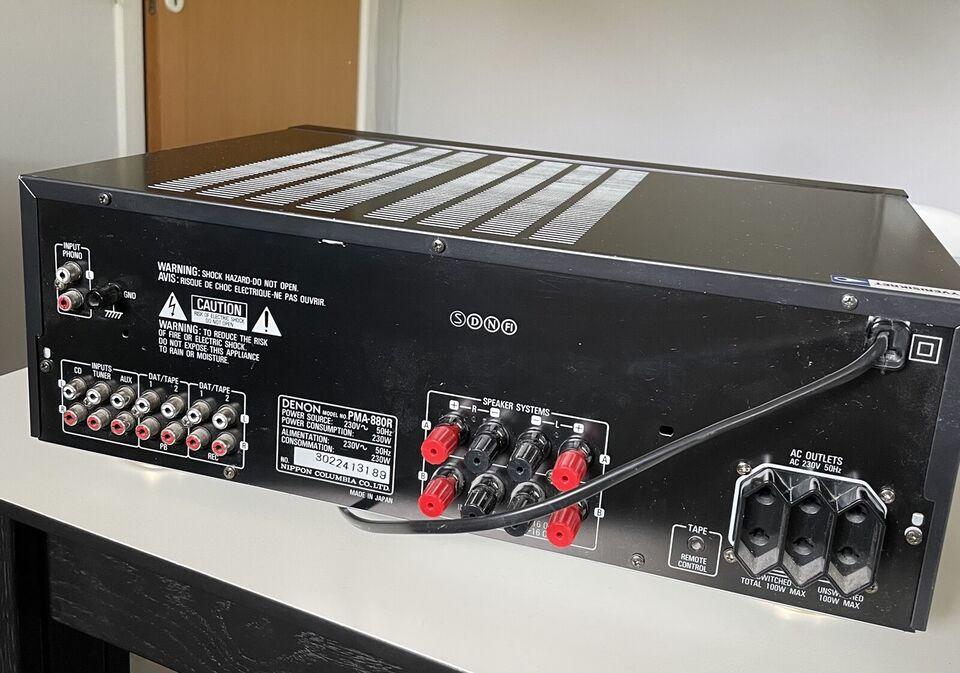 Forstærker, Denon, PMA-880R