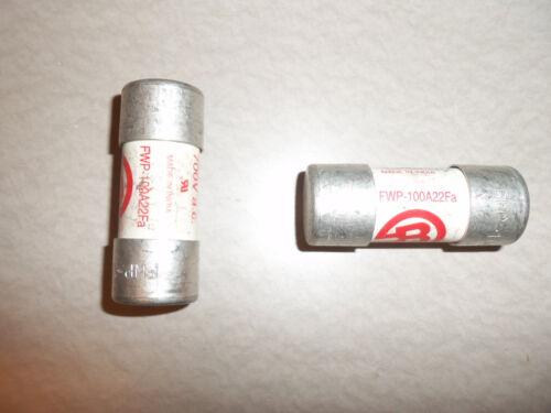 BUSSMANN FWP-100A22F 100 AMP 700V FUSE 1 PER BUY