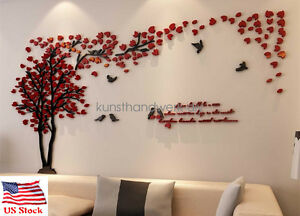 Image Is Loading Us Tree Wall Stickers Living Room