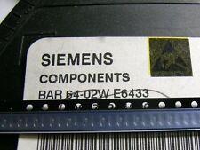 3 Stück BAR64-02W SIEMENS PIN Switch/Attenuator Diode up to 3GHz SCD80 (M6235)