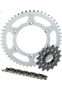 HONDA-CRF100-XR100-CHAIN-AND-SPROCKET-KIT-1987-2017-14T-50T-STEEL-CHEAP