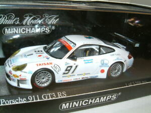 1-43-Porsche-911-GT3-RS-2005-Spa-1000KM-91-Minichamps-3504-Ltd-Ed