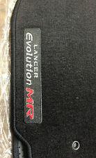"""2005/2006 Mitsubishi Lancer Evolution """"MR"""" Carpet Floor Mats -Factory OEM- BLACK"""
