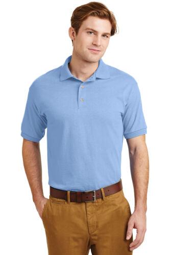 Gildan Dry Blend 6-Ounce Jersey Knit Polo Sport Shirt School Uniform Casual 8800