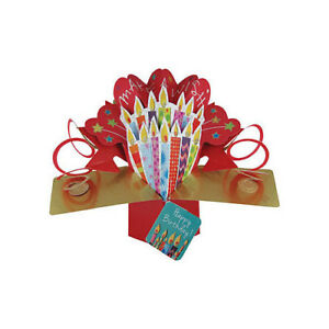 Image Is Loading 3D Pop Up Birthday Card By Second Nature