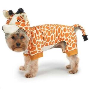 Image is loading Large,GIRAFFE,Dog,Halloween,Costume,Yorkie,Poodle,SpanielPet,