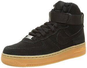 Nike WMNS Air Force 1 Mid '07 Basketball Shoe Size 7 (749266-001) BLACK/BLACK