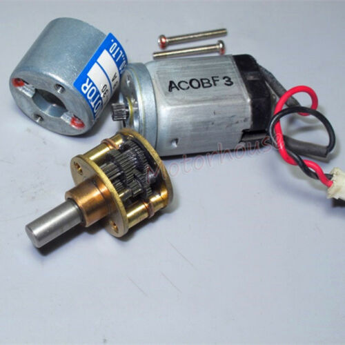 Japan Think TE-20FC-24-30 Micro Gear Motor DC 12V 24V Ouput Gear Set Mount