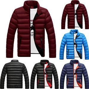 Details zu Herren Warm Winterjacke Daunen Mantel Dick Freizeit Jacke Steppjacke Outwear
