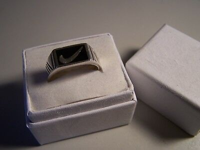 Vintage Ladies Sterling Silver \u2018WWJD\u2019 Jesus Do Ring Size 8.25 Signed ESO