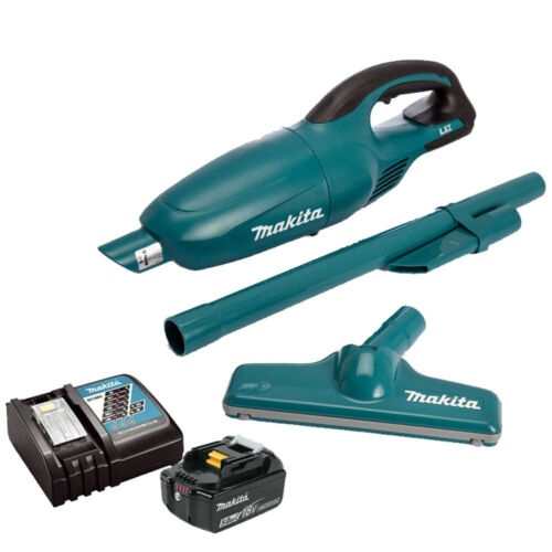 Makita DCL180Z 18V Li-ion Vacuum Cleaner With 1 x 5.0Ah BL1850 Battery /& Charger