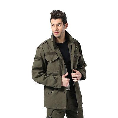New Men's Military Army Tactical Combat Outdoor Jacket Air Flight Cotton Coats