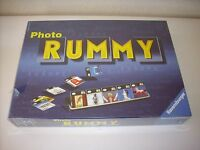 Rare Jeu De Societe  Photo Rummy  Ravensburger 2000 Neuf Sous Blister