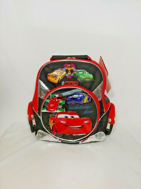 Figh to the Finish Toddler Rolling Backpack Disney Pixar Cars 2