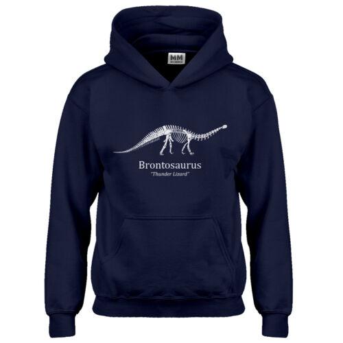 Youth Brontosaurus Kids Hoodie #3537
