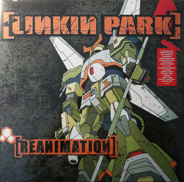 LINKIN PARK - REANIMATION  2 VINYL LP GATEFOLD SLEEVE NUOVO NEW