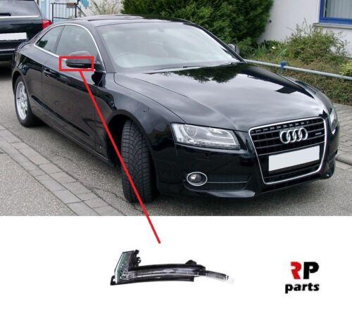 Pour Audi A5 S5 07-09 Audi A4 S4 07-09 Aile Miroir Répéteur Indicateur DEL Droit