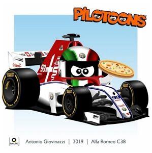 Coffee-Mug-Alfa-Romeo-C38-2019-99-Antonio-Giovinazzi-ITA-by-BM