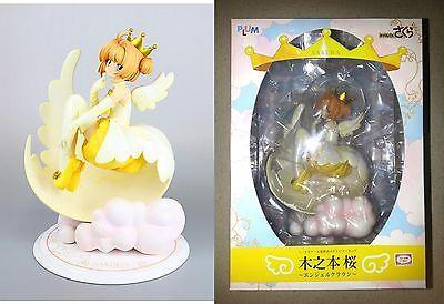 Cardcaptor Sakura Kinomoto Angel Crown PVC Figure 1/7 Scale Plum CLAMP Authentic