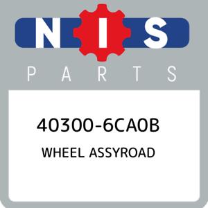 40300-6CA0B-Nissan-Wheel-assyroad-403006CA0B-New-Genuine-OEM-Part
