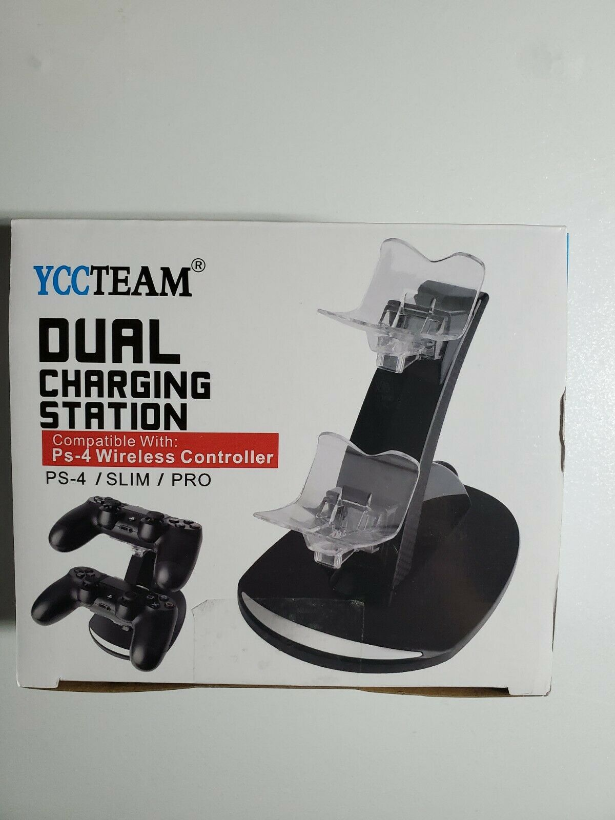 YCCTeam PS4 Wireless Controller Dual Charging Station
