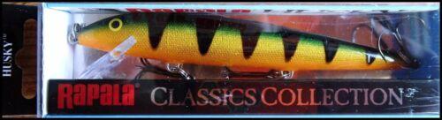 SUPER RARE RAPALA HUSKY H 13 cm in P color Perch
