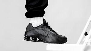 Details about Nike Shox R4 OG Triple Black All 2019 Retro Men's 9.5 Running  Shoes BV1111-001