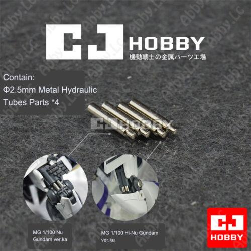 Metal Detail Up Metal Hydraulic Tubes for MG Nu Hi v Gundam Sazabi ver ka Zaku 2