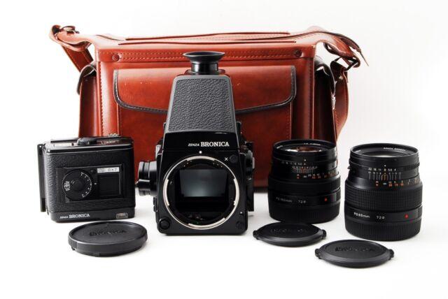 Bronica GS-1 camera w/Zenzanon PG 65mm 150mm lens  Exc+ Medium format from Japan