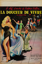 Original La Dolce Vita, Film/Movie Poster, French Affiche Petite, 1960