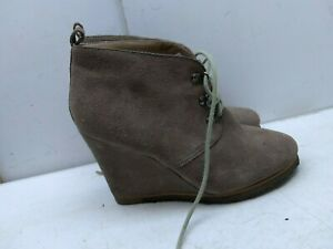 33960ca64ae Details about Steve Madden Brown Suede Platform Chukka Booties Lace Up  Women's Shoes 7.5M 38,5