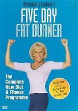 Rosemary Conley's Five Day Fat Burner (2003)  UK REGION 2 DVD