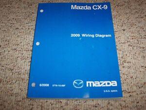 2009 Mazda CX-9 CX9 SUV Factory Original Electrical Wiring ...