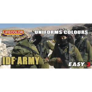 Lifecolor-MS10-IDF-Army-Uniforms-Easy-3-Acrylfarbe-3x22-ml-100ml-13-64