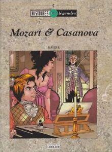 MOZART-ET-CASANOVA-en-EO-de-Dick-MATENA-aux-editions-du-Lombard-en-TBE