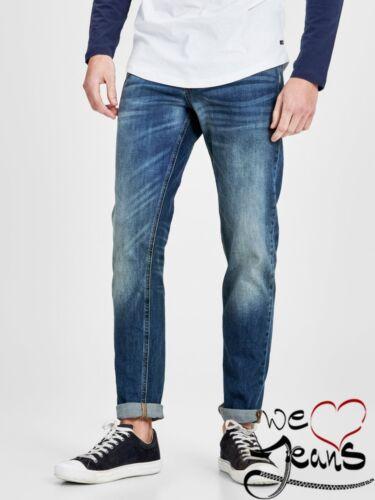 Jack /& Jones Mike 616 30R 30 S nouveau confort homme//jean homme moustaches stretch bleu