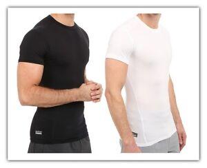 Under Armour Tactical Compression Shirt Crew Neck UA HeatGear Short Sleeve Tee