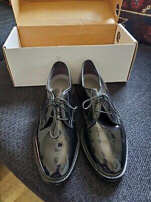 Capps Military Uniform Dress Shoes Oxfords Shiny Black Women's Size 8W  Marine | eBay