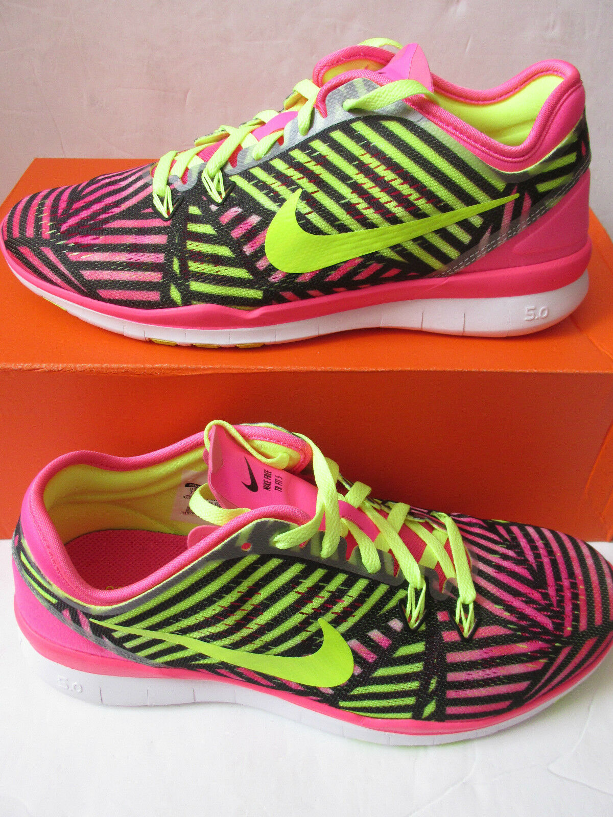 separation shoes d810d bd26e nike Femme free 600 5.0 TR FIT 5 PRT running trainers 704695 600 free  Baskets chaussures