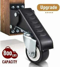 6-inch Casters YASE-king 4 Nylon Casters,Heavy Duty Castors Swivel Wheel Casters For Furniture Table Trolley Bed Workbench