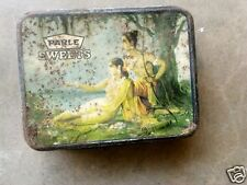 Vintage Lord Ram Sita & Nature Parle's Toffees Ad Litho Tin Box