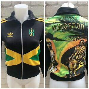 Rare-Adidas-Originals-Jamaica-Track-Top-Size-Small-Women-s-Jacket-Rasta-Kingston