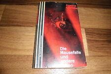 Agatha Christie -- MAUSEFALLE u. ANDERE FALLEN // Hercule Poirot 1. Auflage 1966